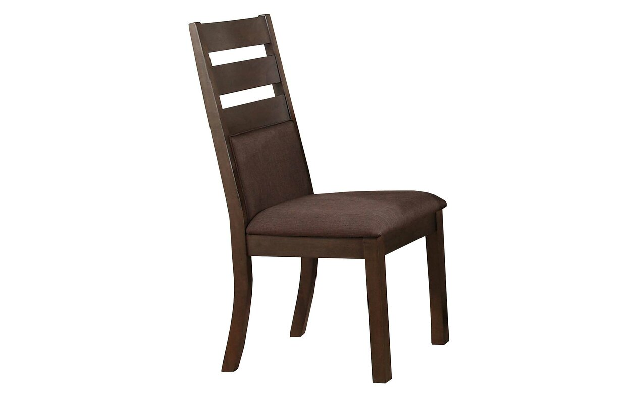 Pereyra Cushioned Ladder Back Side Chair Set Of 2 By