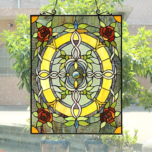 Stained Glass Pool Table Light Wayfair Ca