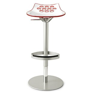 Great Price Jam Adjustable Height Swivel Bar Stool by Connubia Reviews (2019) & Buyer's Guide