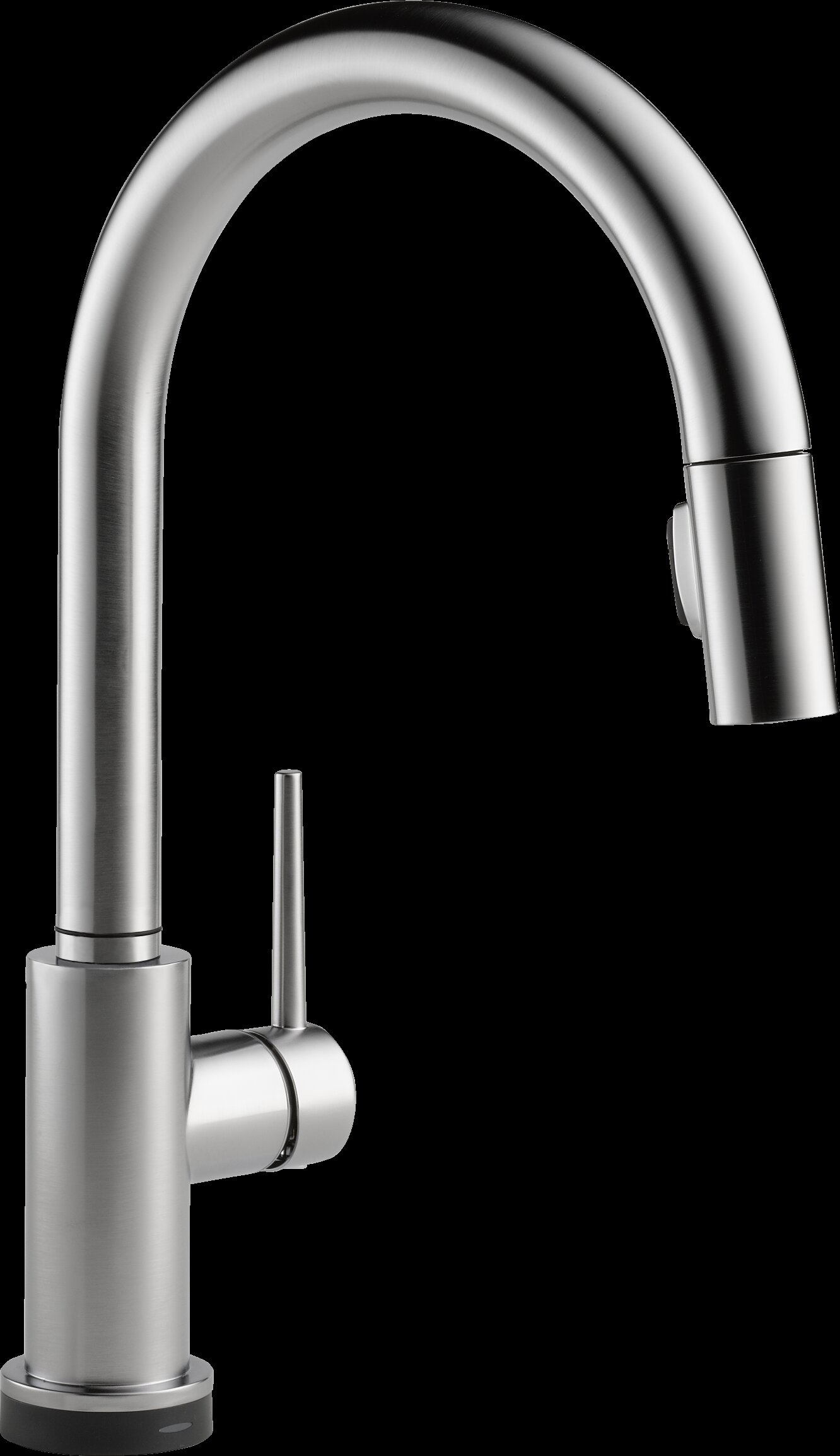 Delta Trinsic Pull Down Touch Single Handle Kitchen Faucet with ...