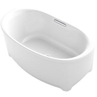 Underscore Oval Freestanding VibrAcoustic® Bath by Kohler