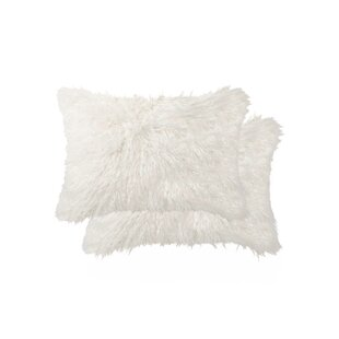 Esposito Wool Lumbar Pillow (Set of 2)