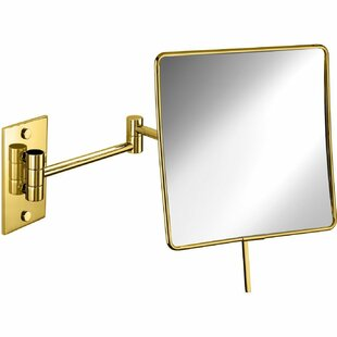 Affordable Knap Double-Sided Extendable Makeup/Shaving Mirror By Symple Stuff
