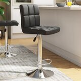 Renea Adjustable Height Swivel Bar Stool (Set of 2) by Orren Ellis