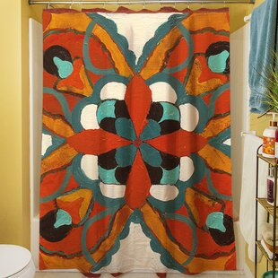 Best Reviews Laila I Shower Curtain ByBloomsbury Market
