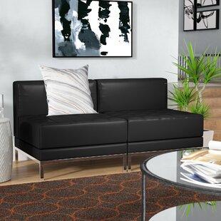 Bouffard Metal Frame Lounge Set by Orren Ellis