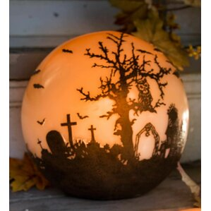 halloween glowing luminary globe - Halloween Lights