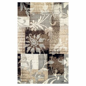 Yadira Brown/Gray Area Rug