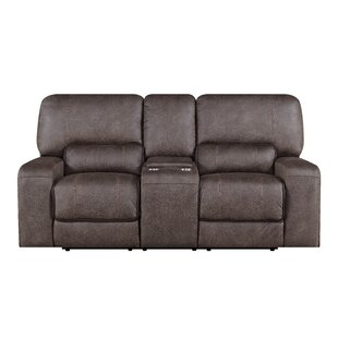 Farrier Console Reclining Loveseat by Latitude Run Coupon