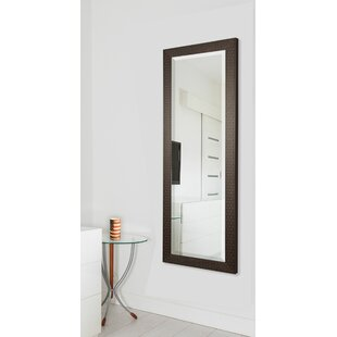 Darby Home Co Espresso Bricks Full Length Beveled Body Mirror