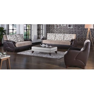 Reviews Costa Configurable 3 Piece Sleeper Living Room Set by Decor+ Reviews (2019) & Buyer's Guide