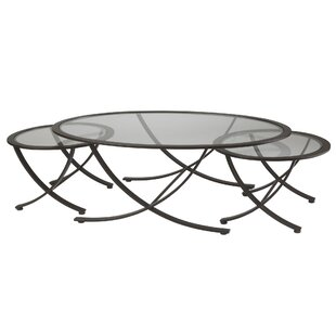 Wellington 3 Piece Coffee Table Set