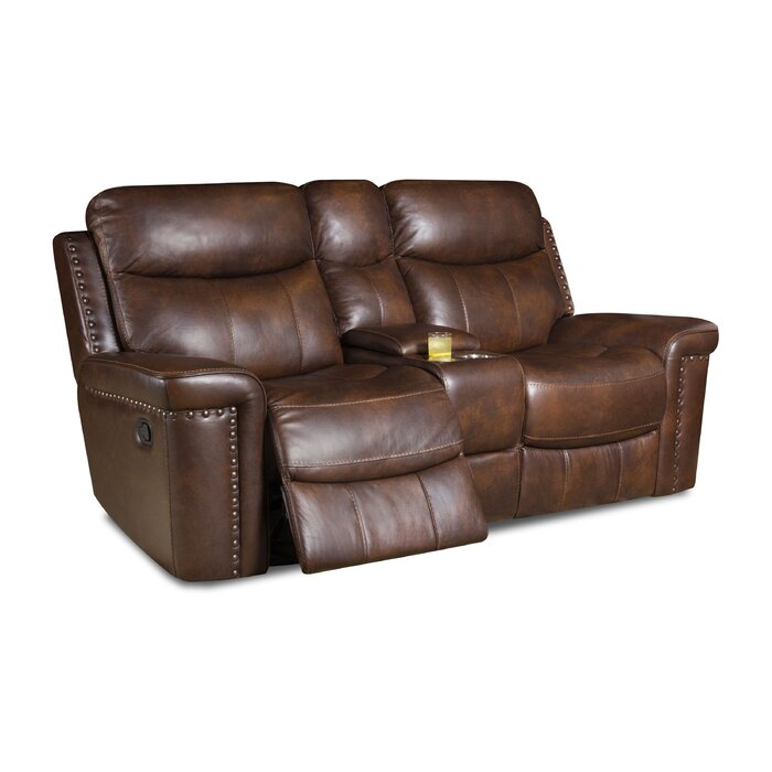 Outstanding Heineman Leather Reclining Loveseat Ocoug Best Dining Table And Chair Ideas Images Ocougorg