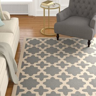 Fredricks Anthracite & Beige Indoor/Outdoor Area Rug