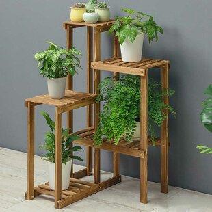 Sequim Rectangular Multitiered Plant Stand