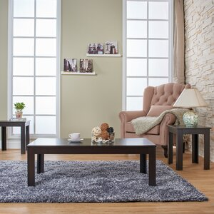 Saxonburg 3 Piece Coffee Table Set