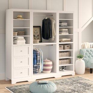 Barnard 86W Wood Freestanding Closet Organization System by Birch Lane™ Heritage