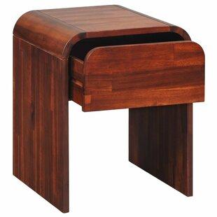Stripling 1 Drawer Nightstand Table