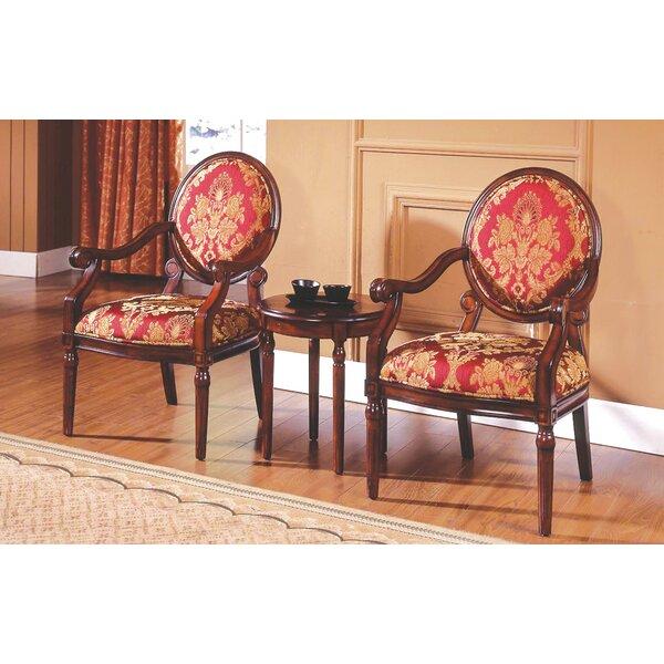 Astoria Grand Ambassador 3 Pieces Living Room Armchair Set