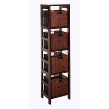 Leo 55 Etagere Bookcase by Luxury Home