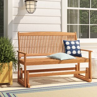 Nelligan Glider Bench by Beachcrest Home #2