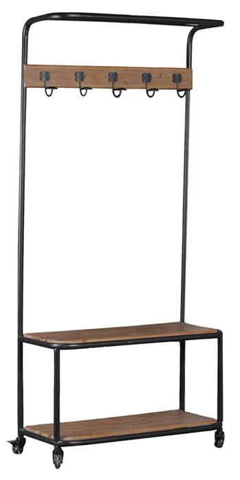 Trent Austin Design Foundry Metal and Wood Hall Tree Reviews
