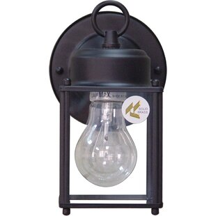Budget 1-Light Outdoor Wall Lantern By Volume Lighting