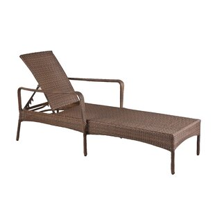 Key Biscayne Reclining Chaise Lounge with Cushion