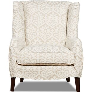 Kristina Wingback Chair by Klaussner Furniture