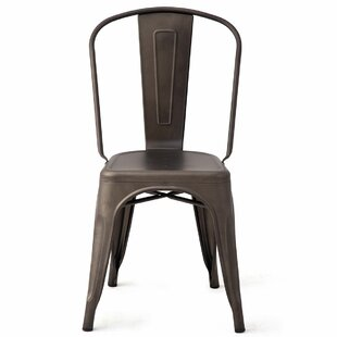 Kermit Stacking Patio Dining Chair (Set of 4)