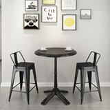 Bosch 24'' Counter Stool (Set of 2) by 17 Stories