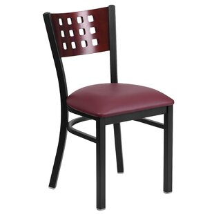 Chafin Modern Solid Back Side Chair
