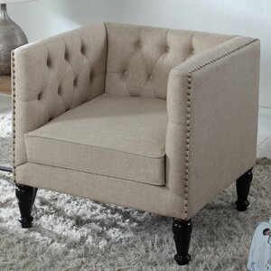 Tufted Armchair by BestMasterFurniture