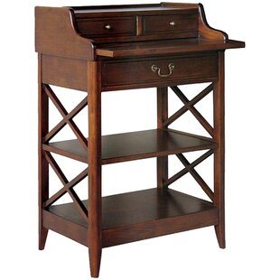 Clement Secretary Desk With Hutch by DarHome Co New