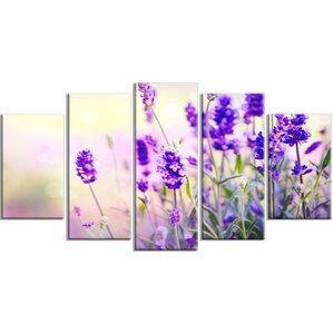 Wayfair Wall Art lavender canvas wall art | wayfair