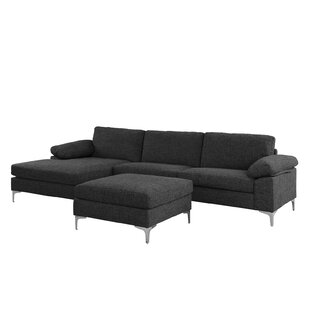Quint Contemporary Sectional with Ottoman