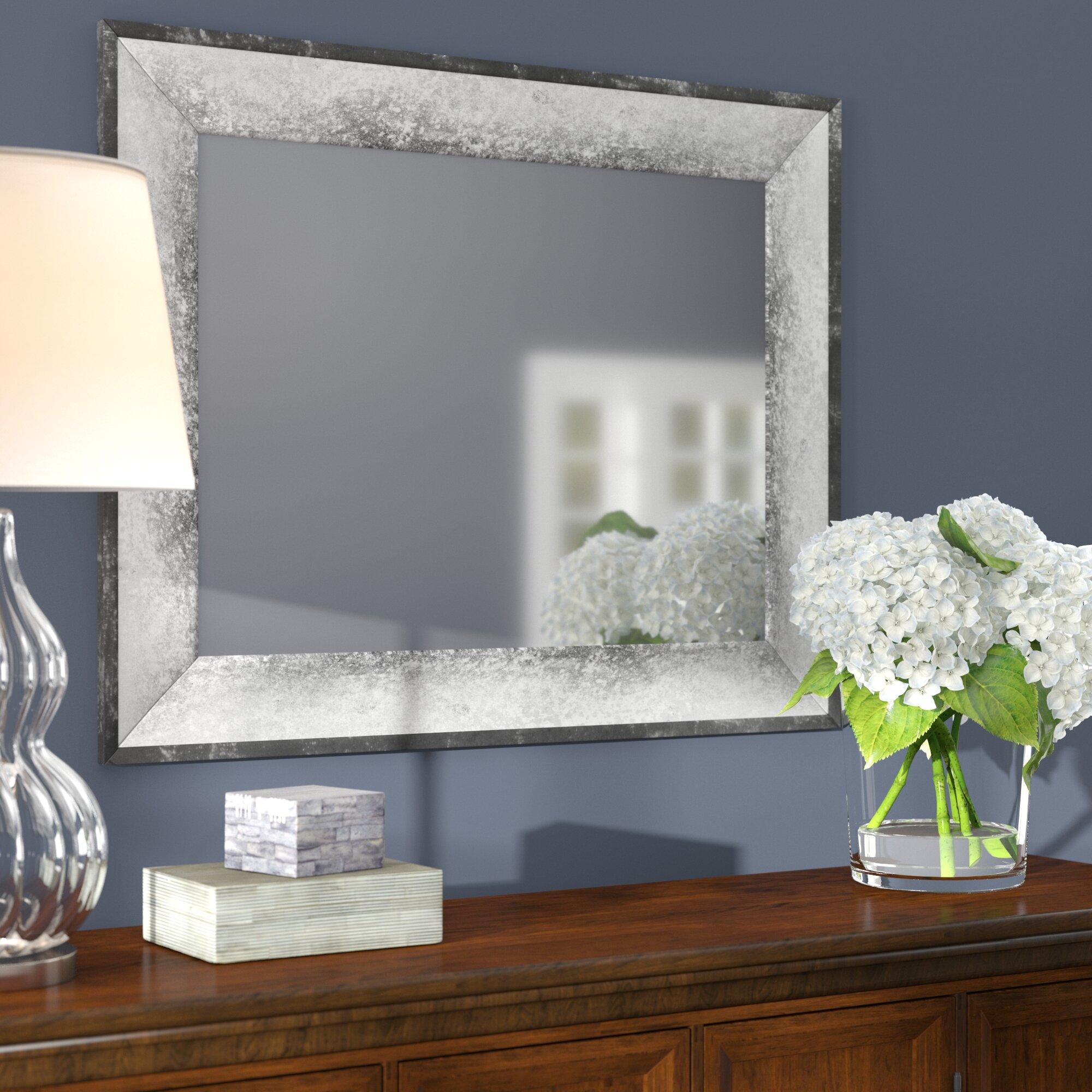 Image of: Red Barrel Studio Modern Contemporary Bathroom Mirror Reviews Wayfair