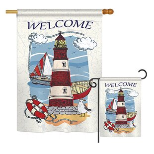 Welcome Longshore Tides Flags You Ll Love In 2021 Wayfair