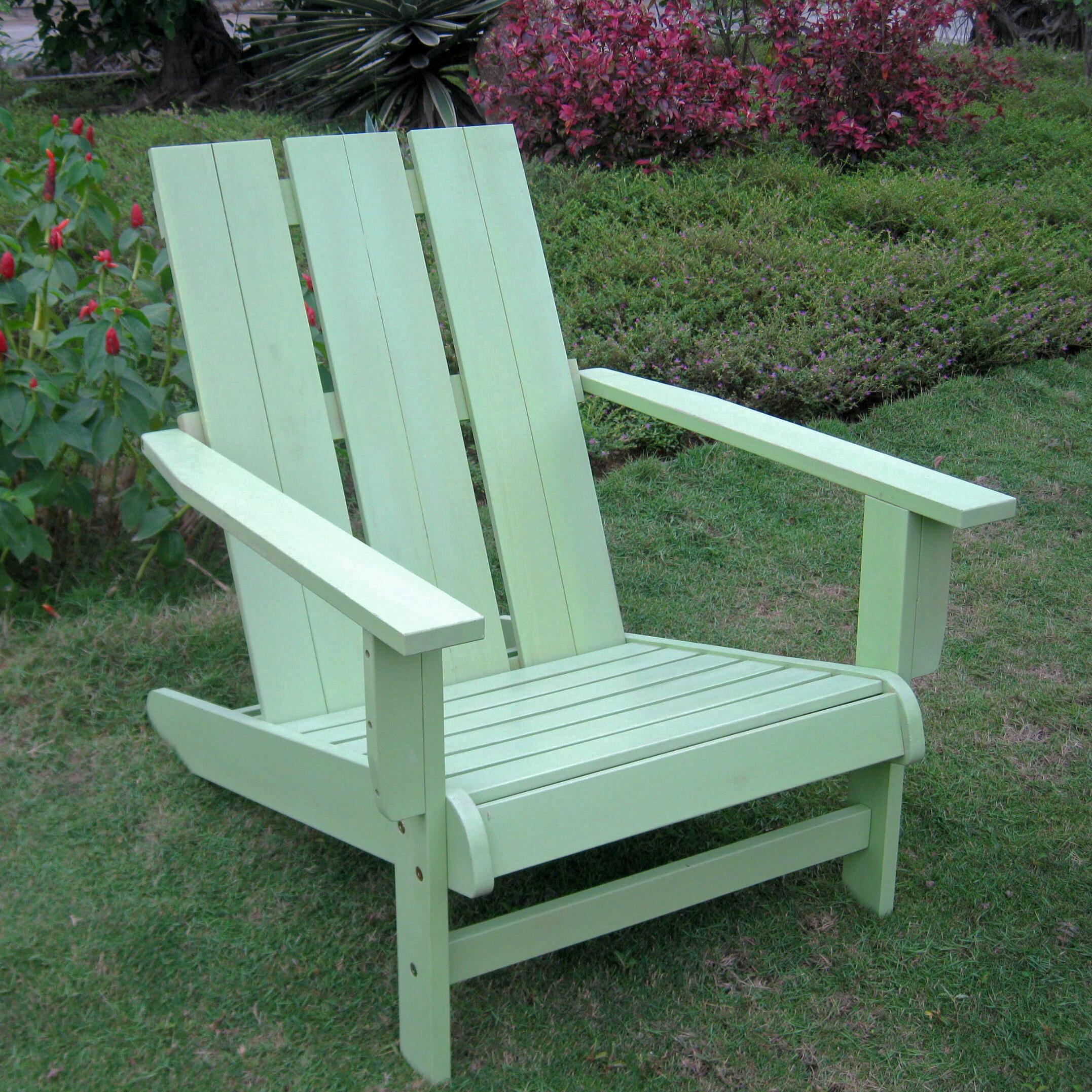 Acacia Green Wood Adirondack Chairs You Ll Love In 2021 Wayfair