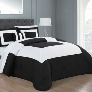 Marquette Reversible Comforter Set by Latitude Run Cheap