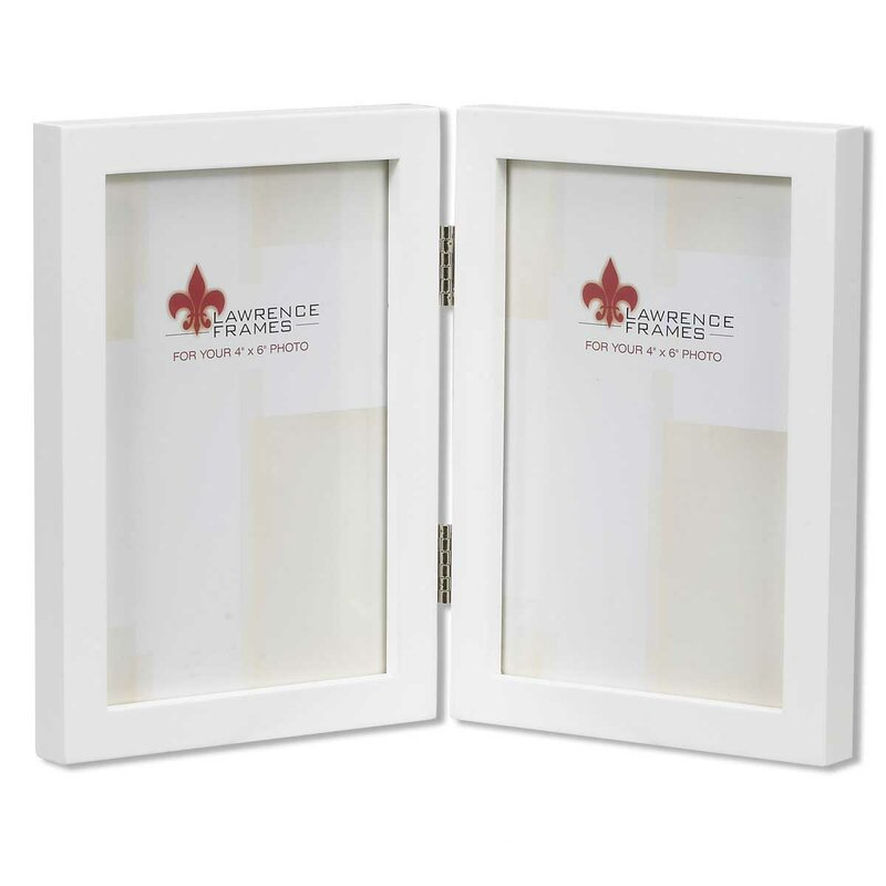 Lawrence Frames Gallery Hinged Double Picture Frame Reviews Wayfair