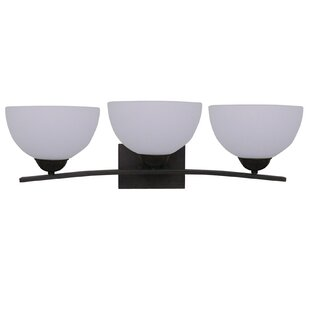 Online Reviews Babin 3-Light Vanity Light By Wrought Studio