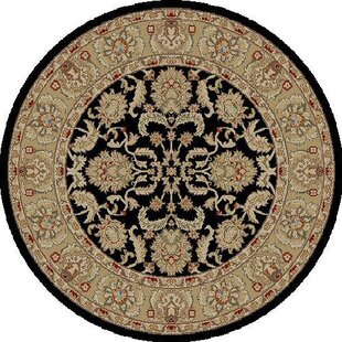Affordable Bitner Ankara Oushak Black Rug ByCharlton Home