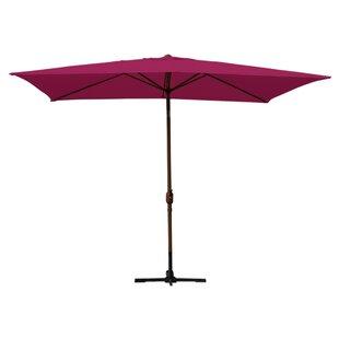 Norah 10' X 6.5' Rectangular Market Umbrella by Alcott Hill 2019 Sale