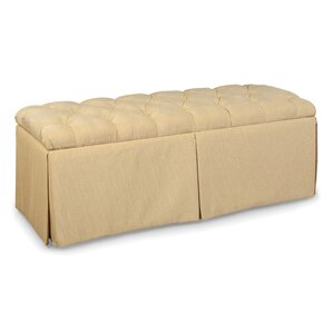 Tufted Top Skirted Storage Ottoman by Fairfield Chair