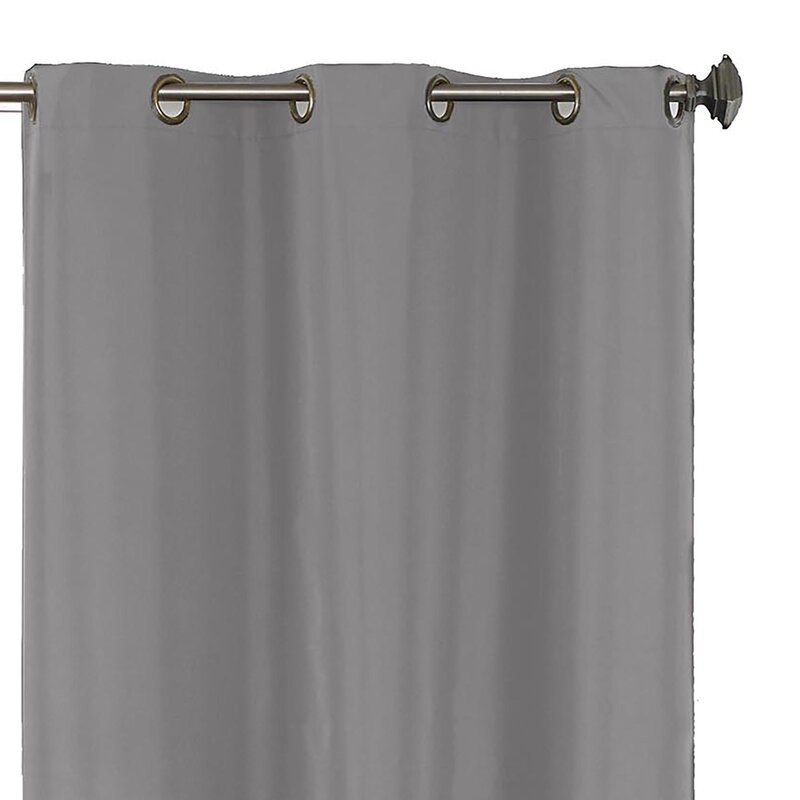 Ringold Solid Blackout Thermal Grommet Single Curtain Panel Reviews Joss Main
