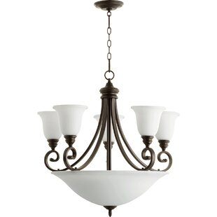 Guide to buy Asheville 9-Ligh Shaded Chandelier By Andover Mills