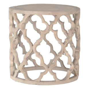 Inexpensive Rye Wooden End Table By Bungalow Rose