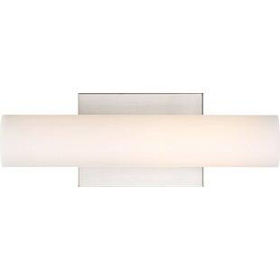 Read Reviews Deangelo 1-Light LED Bath Bar By Ebern Designs