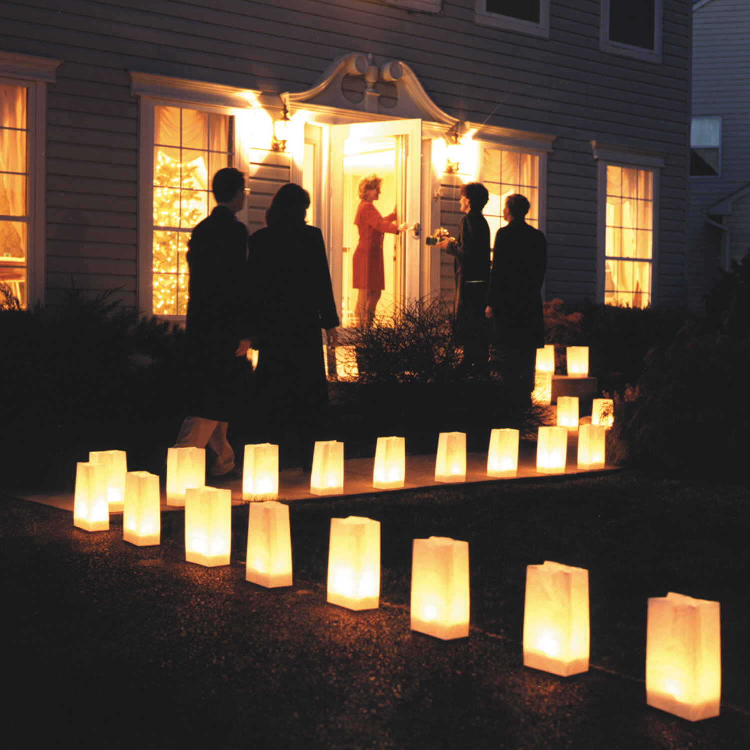 The Holiday Aisle Candle Luminary